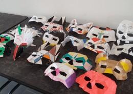 les masques réalisés
