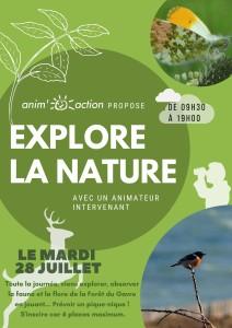 Sortie Animation nature 28 juillet 2020