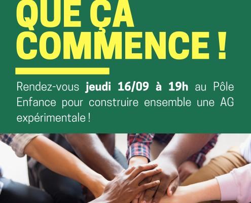 Anim'action Flyer Réunion Prépa AG2021